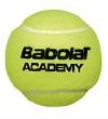 Tennisbälle- Babolat ACADEMY - 72 Bälle im Polybag