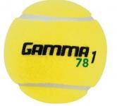 Tennisbälle - Gamma Tennisball Grüner Punkt (Stage 1)
