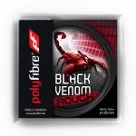 Tennissaite - Polyfibre Black Venom rough - 12 m