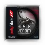 Tennissaite - Polyfibre Black Venom - 12 m