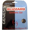 Tennissaite - GENESIS Blizzard Synthetic Gut schwarz - 12 m