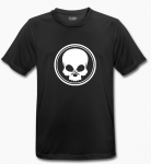 BLACK SKULL - T-Shirt - BeCool - black