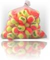 Tennisbälle - DISCHO Classic - 60 Bälle im Polybag gelb/orange