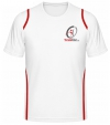 Tennisman Cooltex Tennis T-Shirt weiss/rot