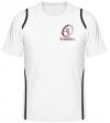 Tennisman Cooltex Tennis T-Shirt weiss/schwarz