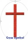 Tourna- Fun Racketschablone- Kreuz