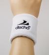 Discho - Schweissband - Wristband - weiss