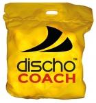 Tennisbälle - DISCHO COACH - 60 Bälle im Polybag - gelb
