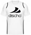 Discho Tennis T-Shirt - weiss/schwarz