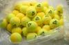 Tennisbälle - DISCHO TRAINER (DELUXE) - 72 Bälle im Polybag - gelb/gold