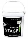 Tennisbälle - Dunlop Mini Tennis STAGE 1 Green  - 60 Stck ´- 2019 (25% langsamer)