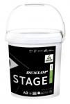Tennisbälle - Dunlop Mini Tennis - Stage 1 - 60 Stck. - grün - 2019