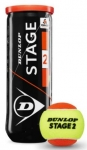 Tennisbälle - Dunlop Mini Tennis - Stage 2 - 3 Stck. - orange - 2019