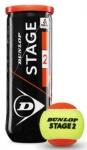 Tennisbälle - Dunlop Mini Tennis - Stage 2 - 3 Stck. - orange - 2019