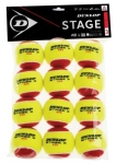 Tennisbälle - Dunlop Mini Tennis - Stage 3 - 12 Stck. - rot - 2019