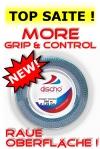 Neu! Tennissaite - DISCHO DYNASTY CONTROL (Grip & Control) Rauhe Oberfläche ! - 200 m