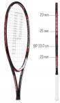 Tennisschläger- Prince - EXO³ Red 105