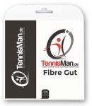 Tennissaite - Tennisman Fibre Gut - black - 12 m