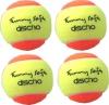 Tennisbälle - DISCHO Funny Soft - Methodik Stage 2 - 4er Packung