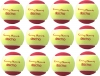 Tennisbälle - DISCHO Funny START - Methodik - Stage 3 - 12 Bälle im Polybag - gelb/rot