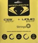 Tennissaite - Grapplesnake CES Neon Dust/Liquid Neon Dust - 6m/6m - 1,23 mm/1,25 mm