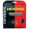 Tennissaite - GENESIS Hexonic - schwarz - 12 m