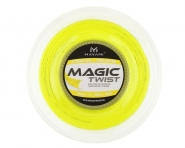 Tennissaite - MAYAMI - Magic Twist 1,25 - Gelb - 200 m Rolle