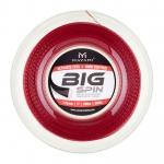 Tennissaite - MAYAMI - Big Spin 1,25 - 200 Meter - rot