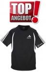 Discho Tennis T-Shirt Fancy - schwarz/weiss