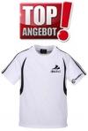 Discho Tennis T-Shirt Fancy -weiss/schwarz