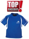 Discho Tennis T-Shirt Fancy - blau/weiss