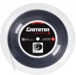 Tennissaite - Gamma Moto Soft - dunkelgrau - 200 m