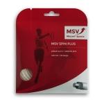 Tennissaite - MSV Spin Plus - 12 Meter - perlmutt