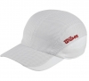 Wilson - New Performance Cap- weiß/Wilson Red