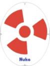 Tourna- Fun Racketschablone- Radioactive