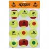 Tennisbälle- Methodik-Tennisball Mix aus Stage1 - Stage2 - Stage3 - je 4 Stück