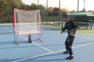 iTennis - Ballwurfmaschine-Tenniswand - Rebounder  2,10 x 2,10 m