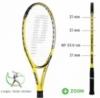 Tennisschläger- Prince - EXO³ REBEL TEAM 98