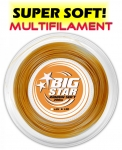 Tennissaite - BIG STAR - RIBBON SOFT  - 200 m