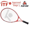 Tennisschläger- Topspin Junior Fire 3 (Stage 3) rot