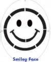Tourna- Fun Racketschablone- Smiley