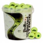Tennisbälle - Balls Unlimited Stage 1 - 60 Bälle im Eimer gelb/gelb (2017)