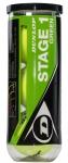 Tennisbälle - Dunlop Mini Tennis - Stage 1 - 3 Stck. - low compression - grün
