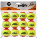 Tennisbälle - Balls Unlimited Stage 2 12er Pack