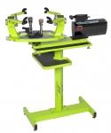 Besaitungsmaschine - SUPERSTRINGER T70 electronic - grün mit Standfuß