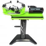 Besaitungsmaschine - SUPERSTRINGER T80 electronic SE - grün mit Standfuß