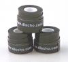 DISCHO - TACKY TAPE - 3er Pack - schwarz - 0,5 mm