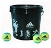 Tennisbälle adidas adiStage 1 36-bucket gelb/grün