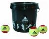 Tennisbälle adidas adiStage 3 - 24-bucket gelb/rot