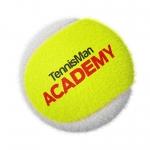 Tennisbälle - TENNISMAN ACACEMY - 72 Bälle im Polybag - gelb/weiss